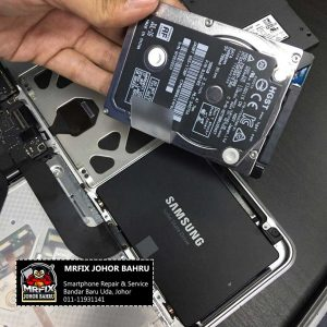 Upgrade HDD to SSDMacBook